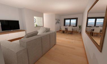 Foto Interior 3d Piso En La Chana
